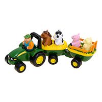 迪尔动物干草车