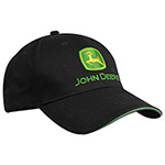 约翰迪尔黑色时尚棒球帽-2019John Deere Black Fashion Baseball Cap