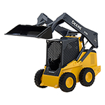 迪尔1:16 318E滑移机车模16 JD 318E Skid Steer Loader