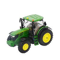 约翰迪尔1:32 6215R 拖拉机精品车模