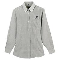约翰迪尔女士灰色长袖衬衫