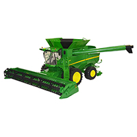 约翰迪尔Big Farm 1:16 S670联合收割机